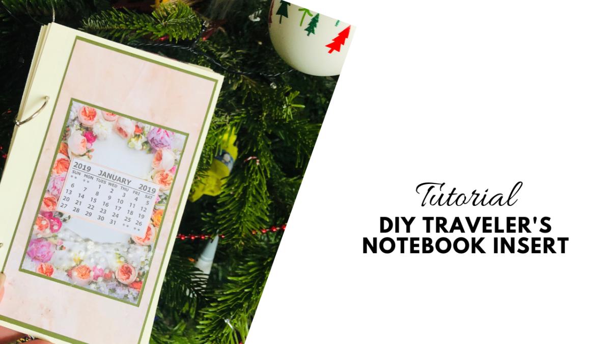 DIY Traveler's Notebook Album : No Sew Tutorial